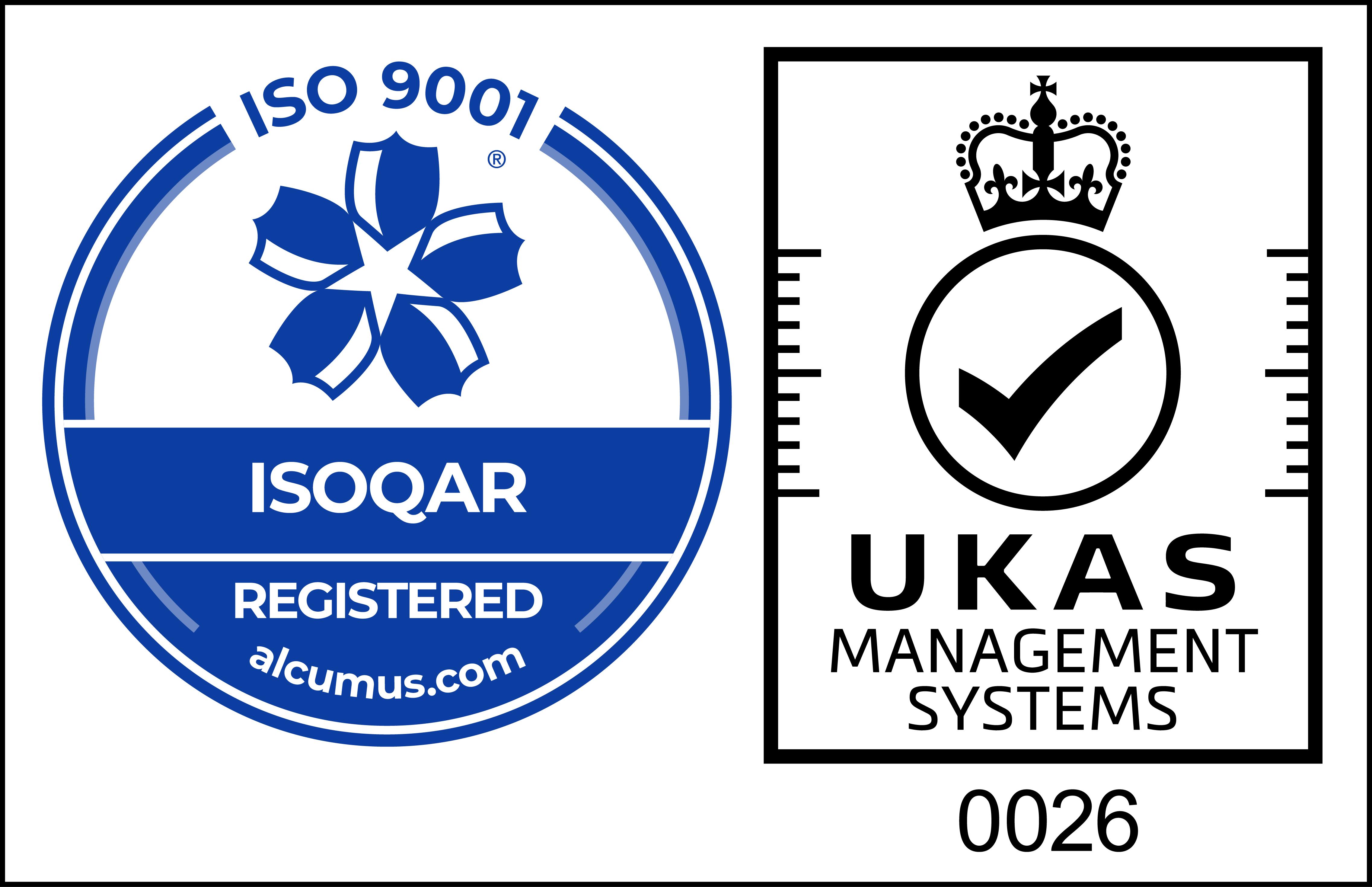 UKAS ISO9001 Mark cl 27 CMYK